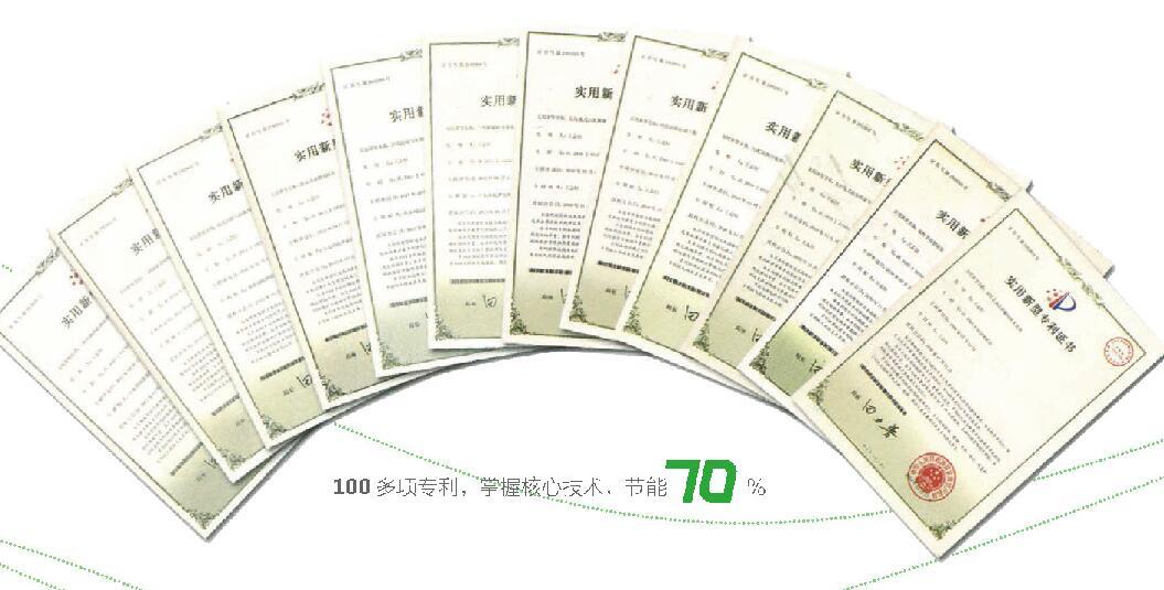 100 多项专利